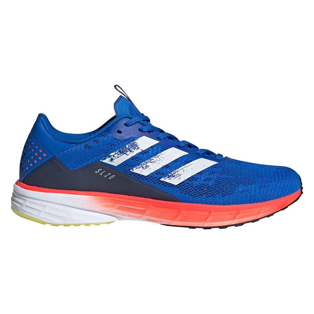 Adidas Sl20 Summer Ready EU 40 Glory Blue / Chalix White / Solar Red