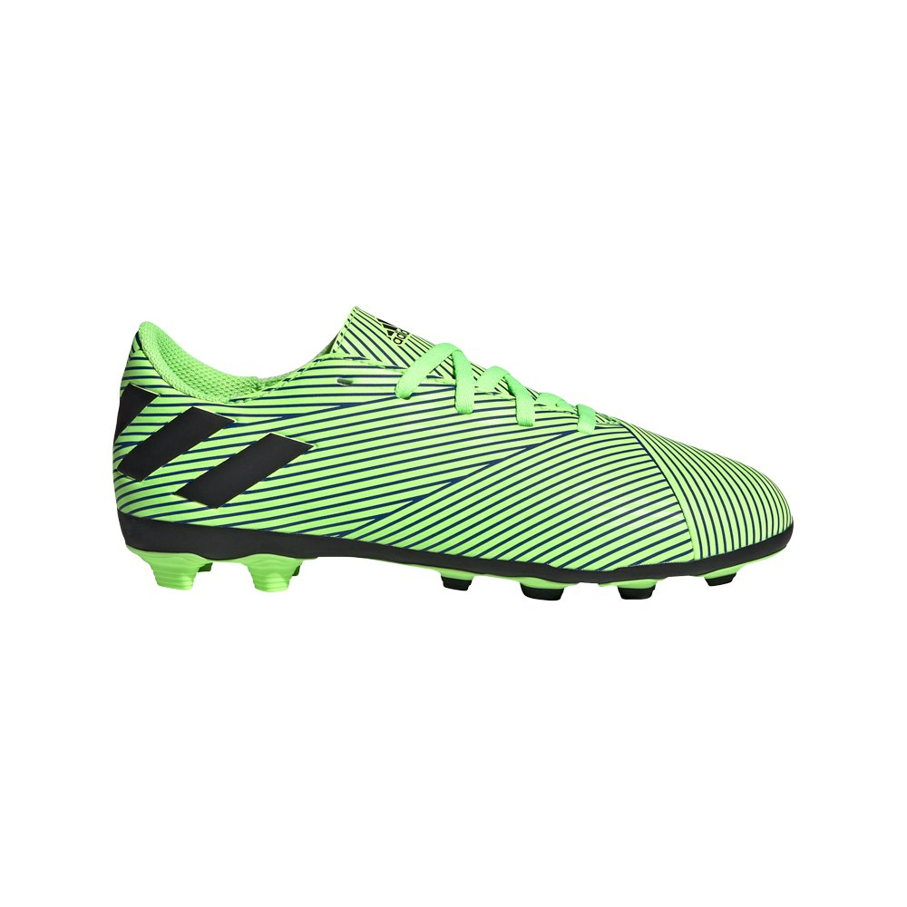 Adidas Chaussures Football Nemeziz 19.4 Fxg EU 36 2/3 Signal Coral / Core Black / Royal Blue