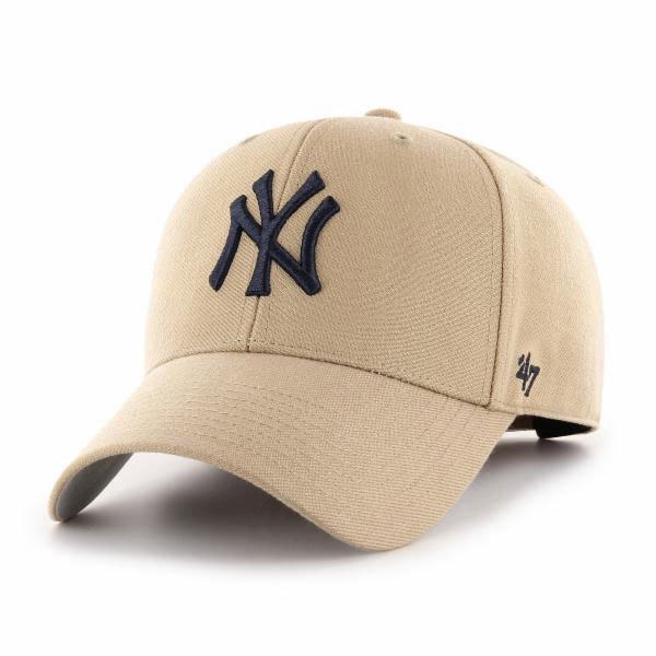 47 Mlb New York Yankees Mvp One Size Khaki