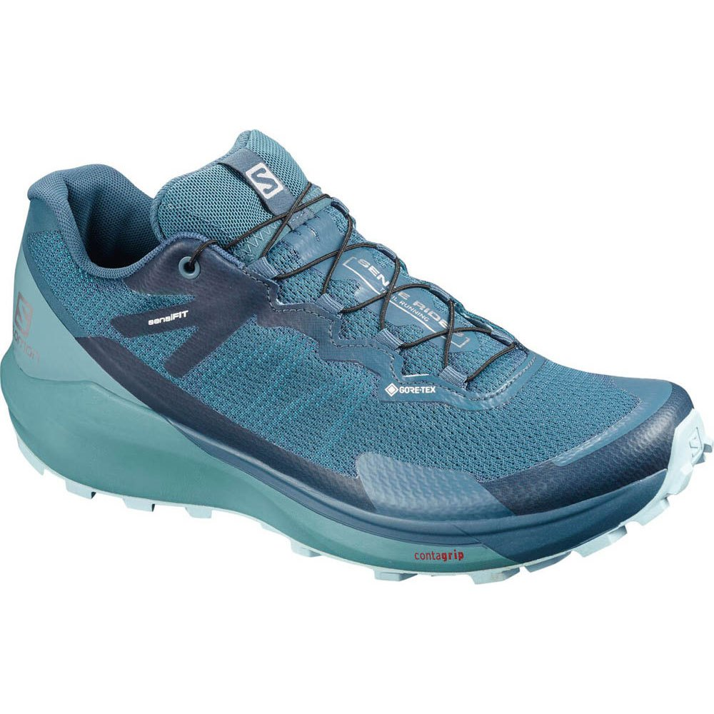 Salomon Sense Ride 3 Goretex Invisible Fit EU 36 2/3 Indian Teal / Smoke Blue / Angel Falls