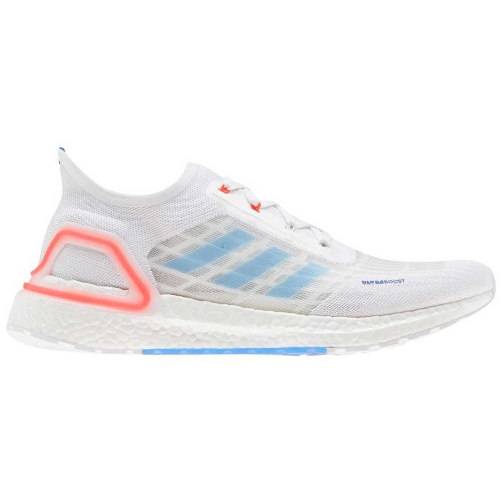 Adidas Ultraboost Summer.rdy EU 46 Footwear White / Glory Blue / Solar Red