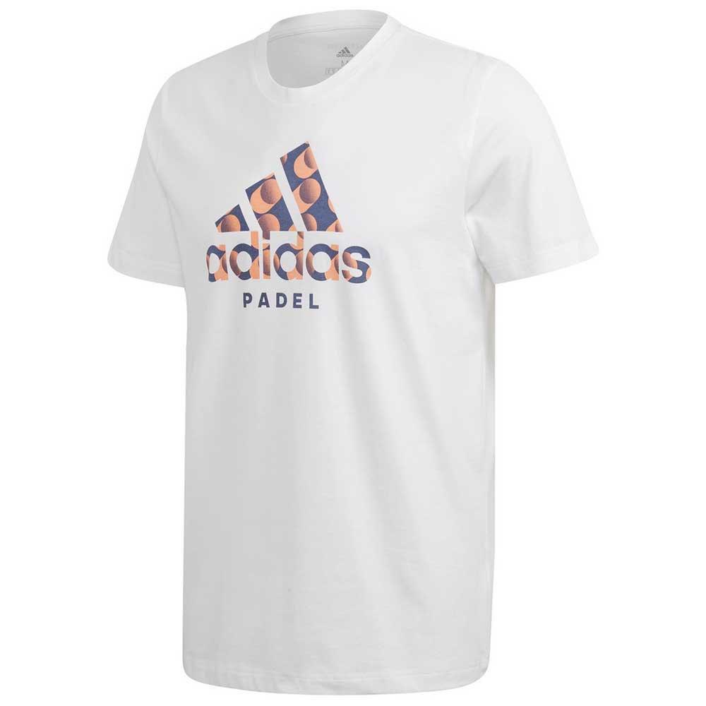 Adidas Padel Logo L White