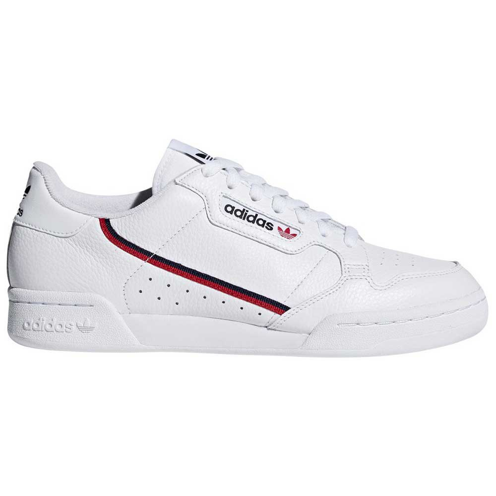 Adidas Originals Continental 80 EU 44 Footwear White / Scarlet / Collegiate Navy