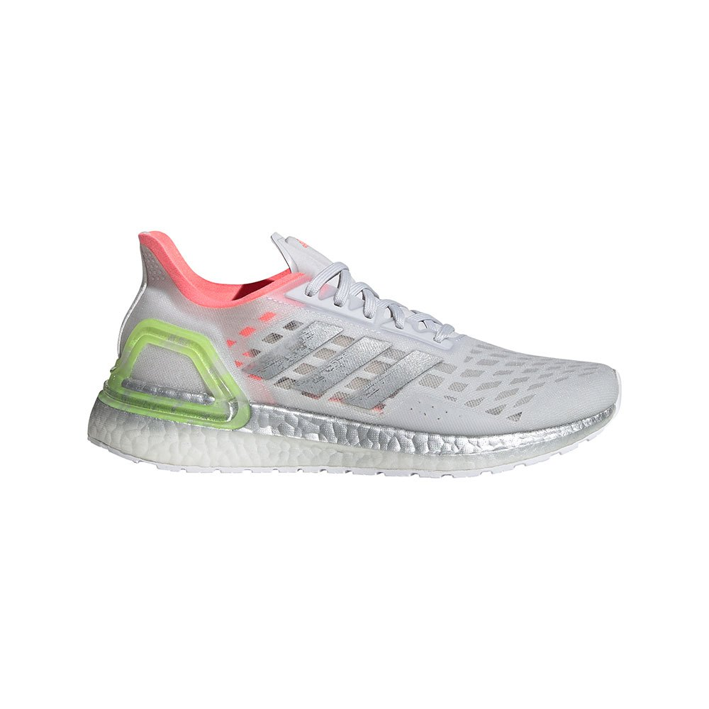 Adidas Ultraboost Pb EU 40 Dash Grey / Silver Metal / Light Flash Red