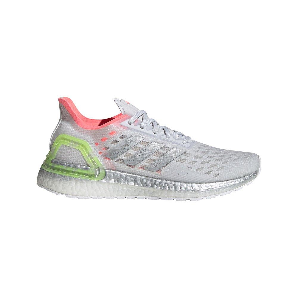 Adidas Ultraboost Pb EU 40 Dash Grey / Silver Metal / Light Flash Red