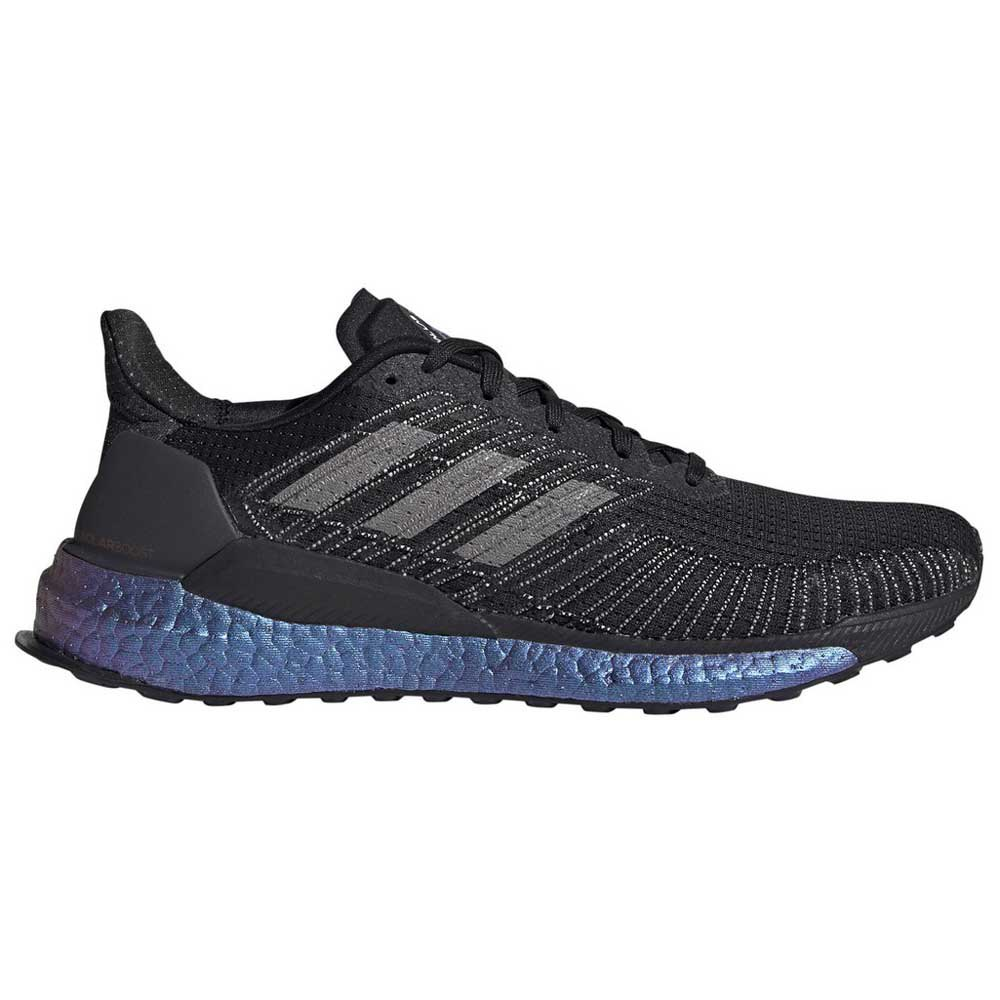 Adidas Solar Boost EU 42 Core Black / Solar Red