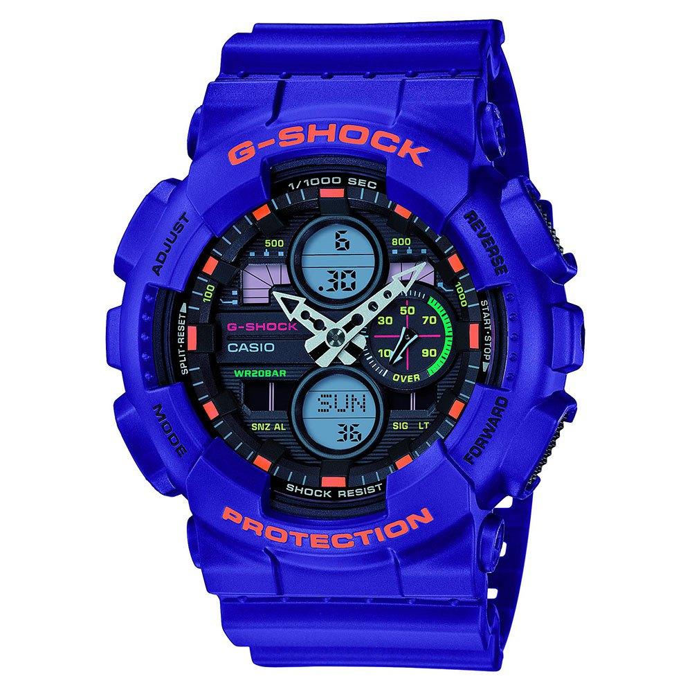 G-shock Relógio Ga-140-6aer One Size Purple - Relógios Relógio Ga-140-6aer