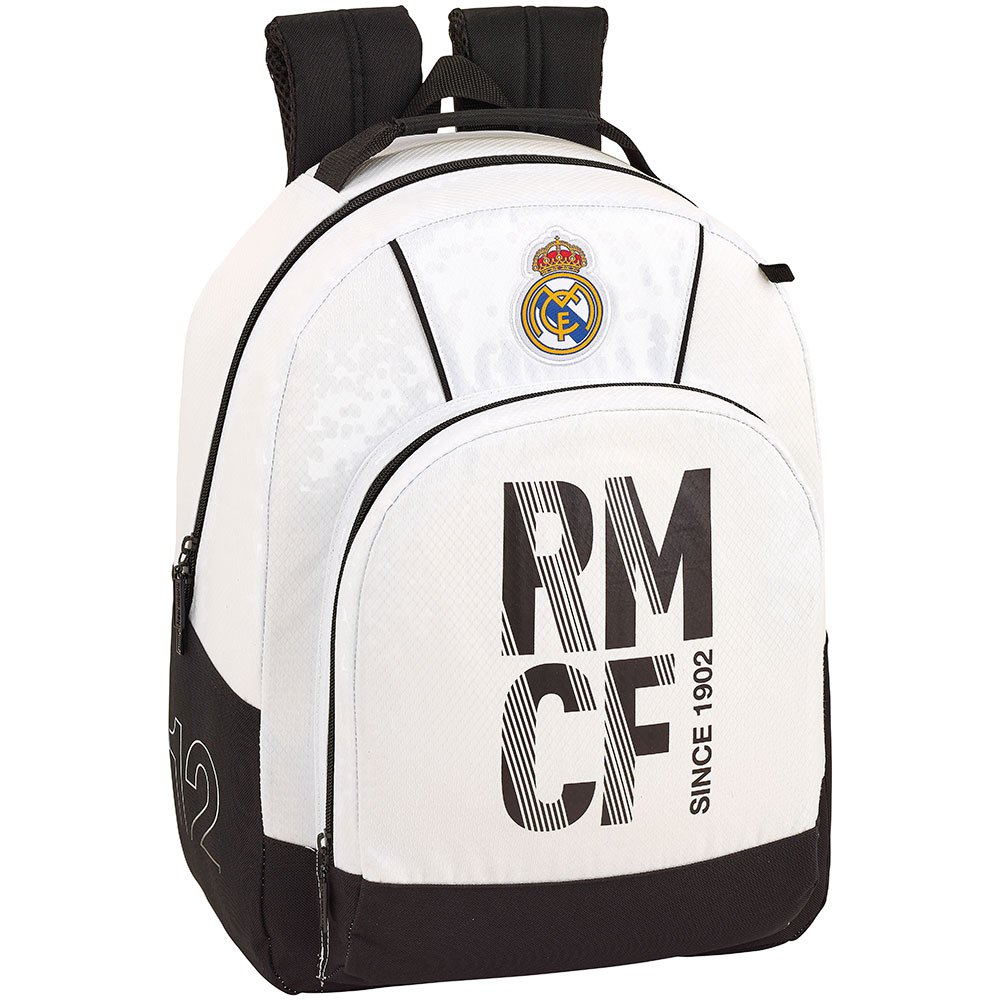 Safta Real Madrid Home Protection Base 17l One Size White