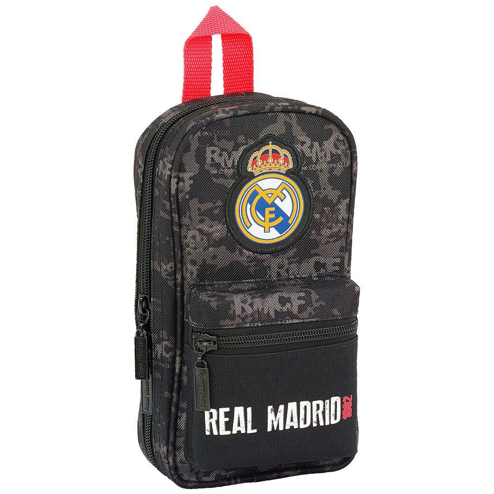 Safta Trousse Real Madrid Vide One Size Black / Red