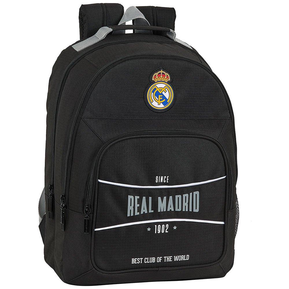 Safta Real Madrid 1902 Double One Size Black / Black