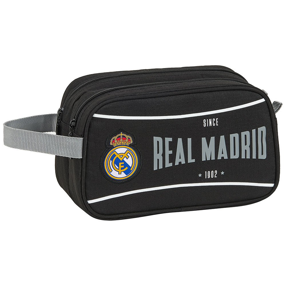 Safta Real Madrid 1902 2 Zippers One Size Black