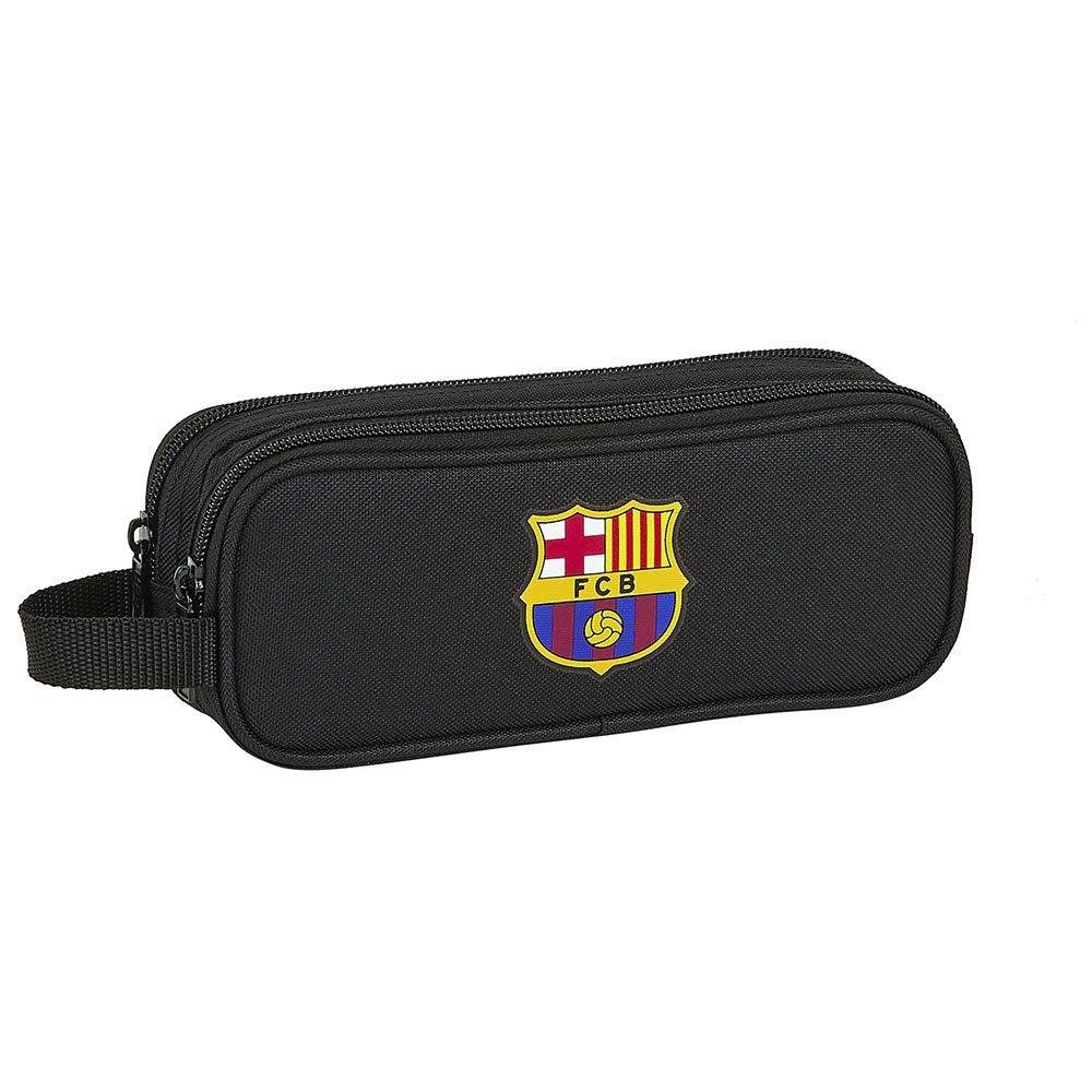 Safta Trousse Fc Barcelona Double One Size Black