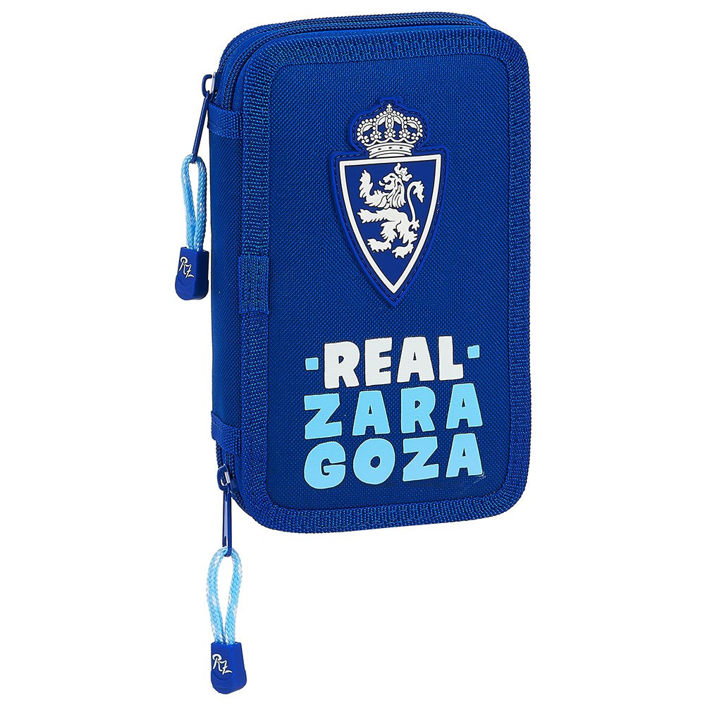 Safta Real Zaragoza Corporate Double 28 Units One Size Blue / Turquoise