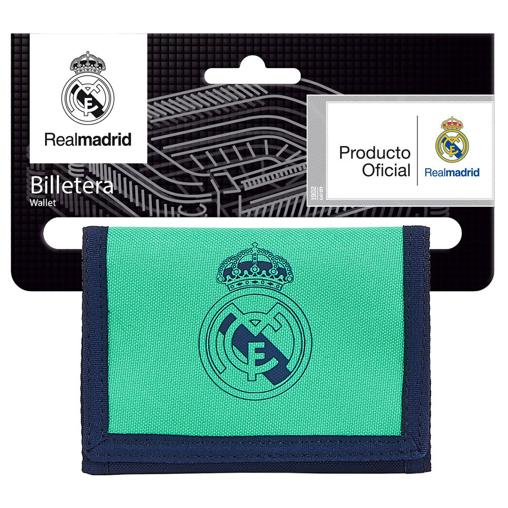 Safta Portefeuille Real Madrid Troisième 19/20 One Size Green