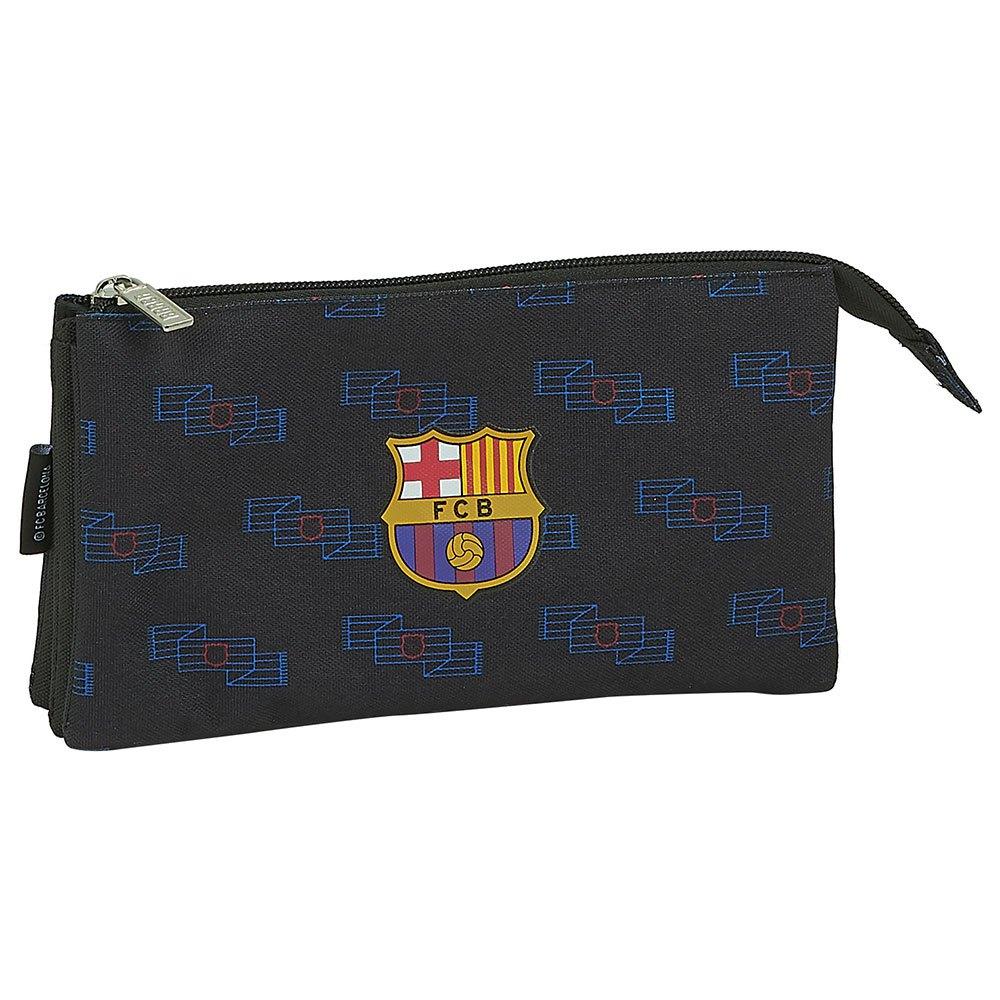 Safta Trousse Fc Barcelona Icon Tripler One Size Black