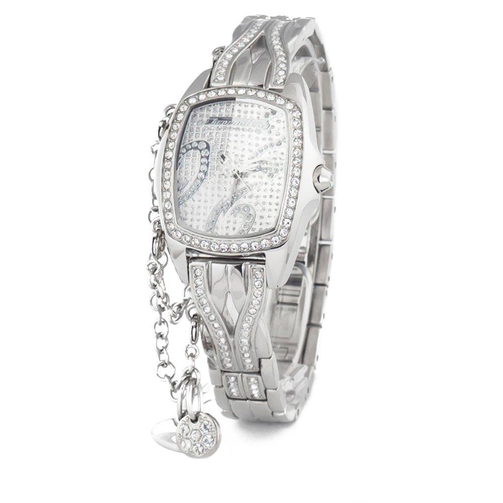 Chronotech Watch One Size Silver