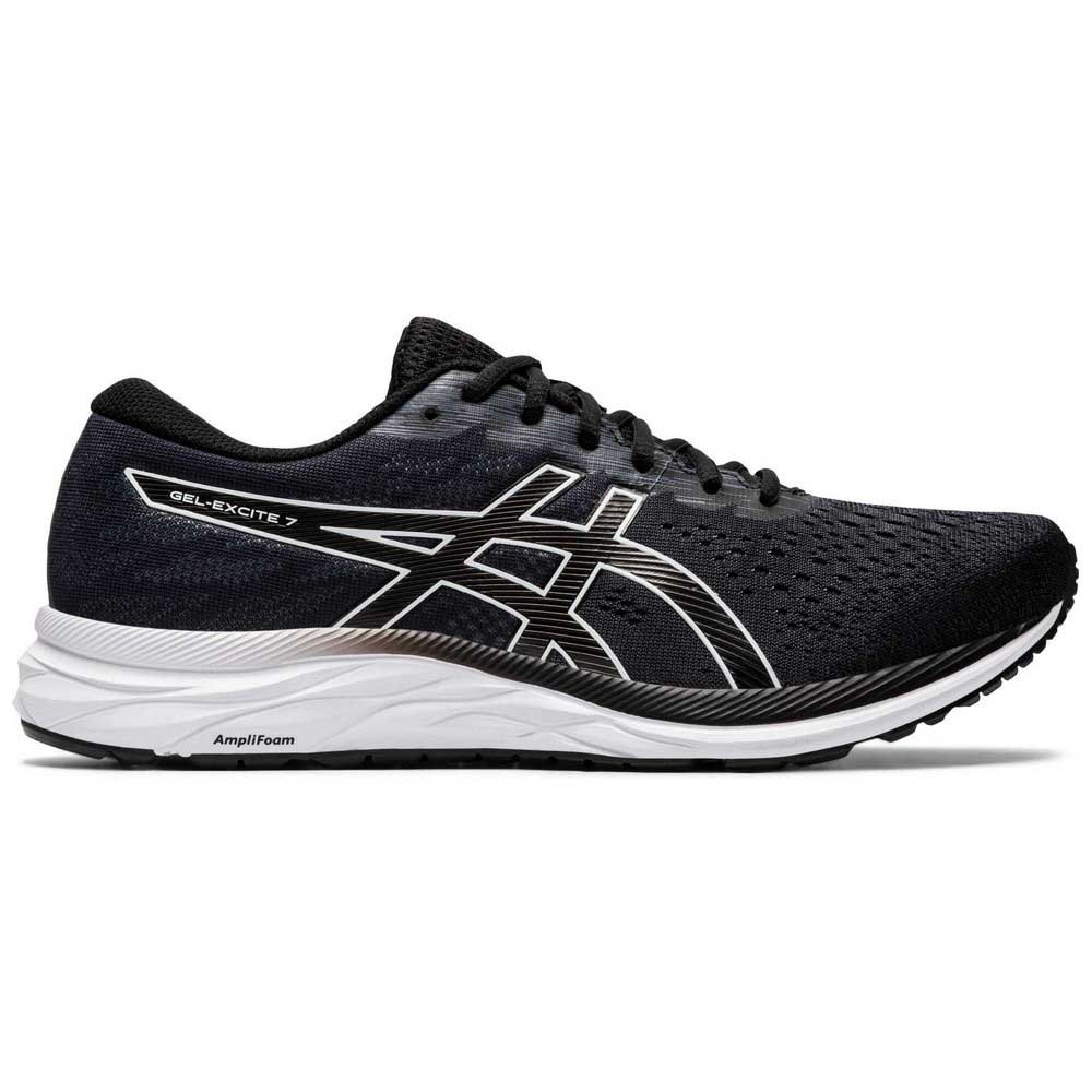 Asics Gel Excite 7 EU 46 1/2 Black / White