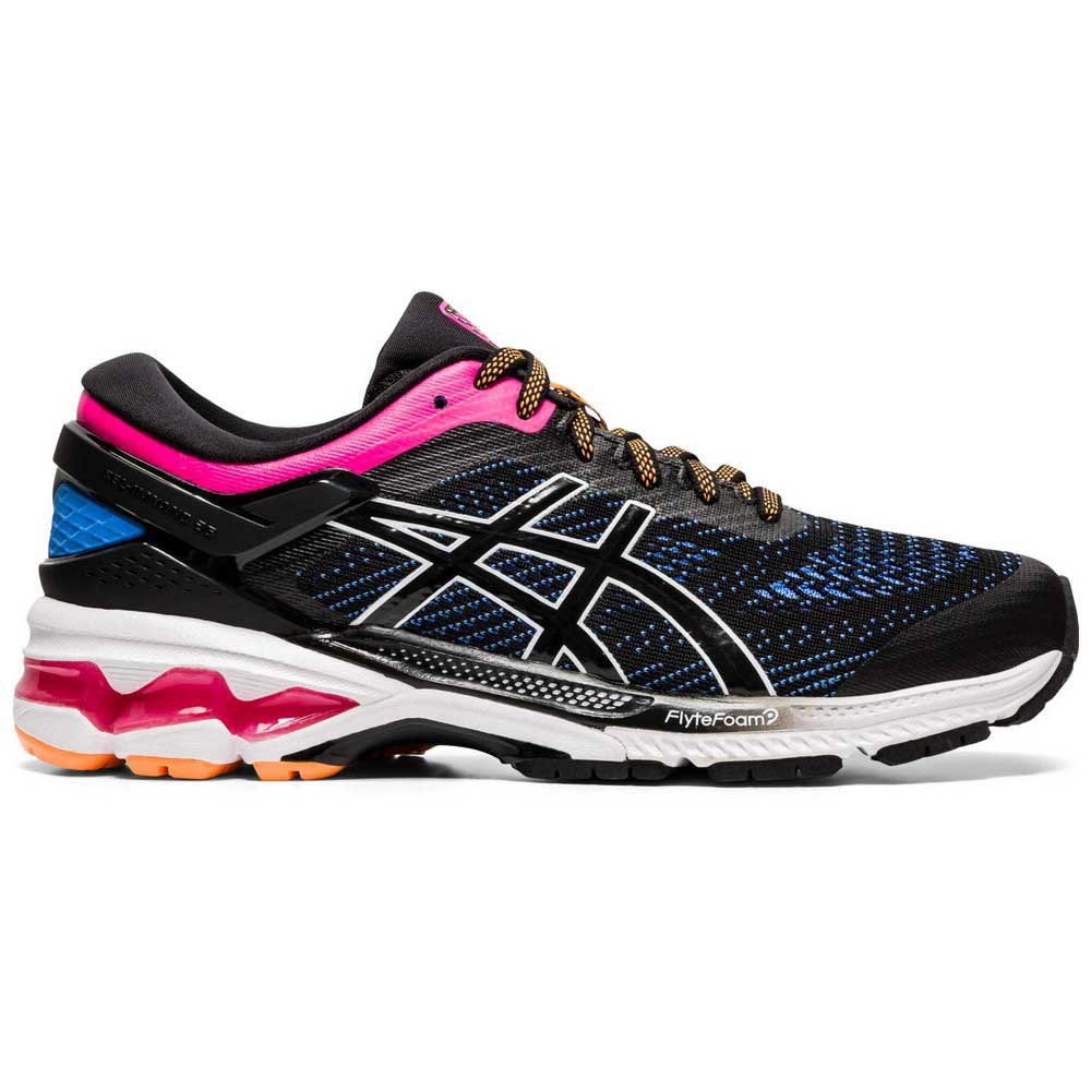 Asics Gel Kayano 26 EU 42 1/2 Black / Blue Coast