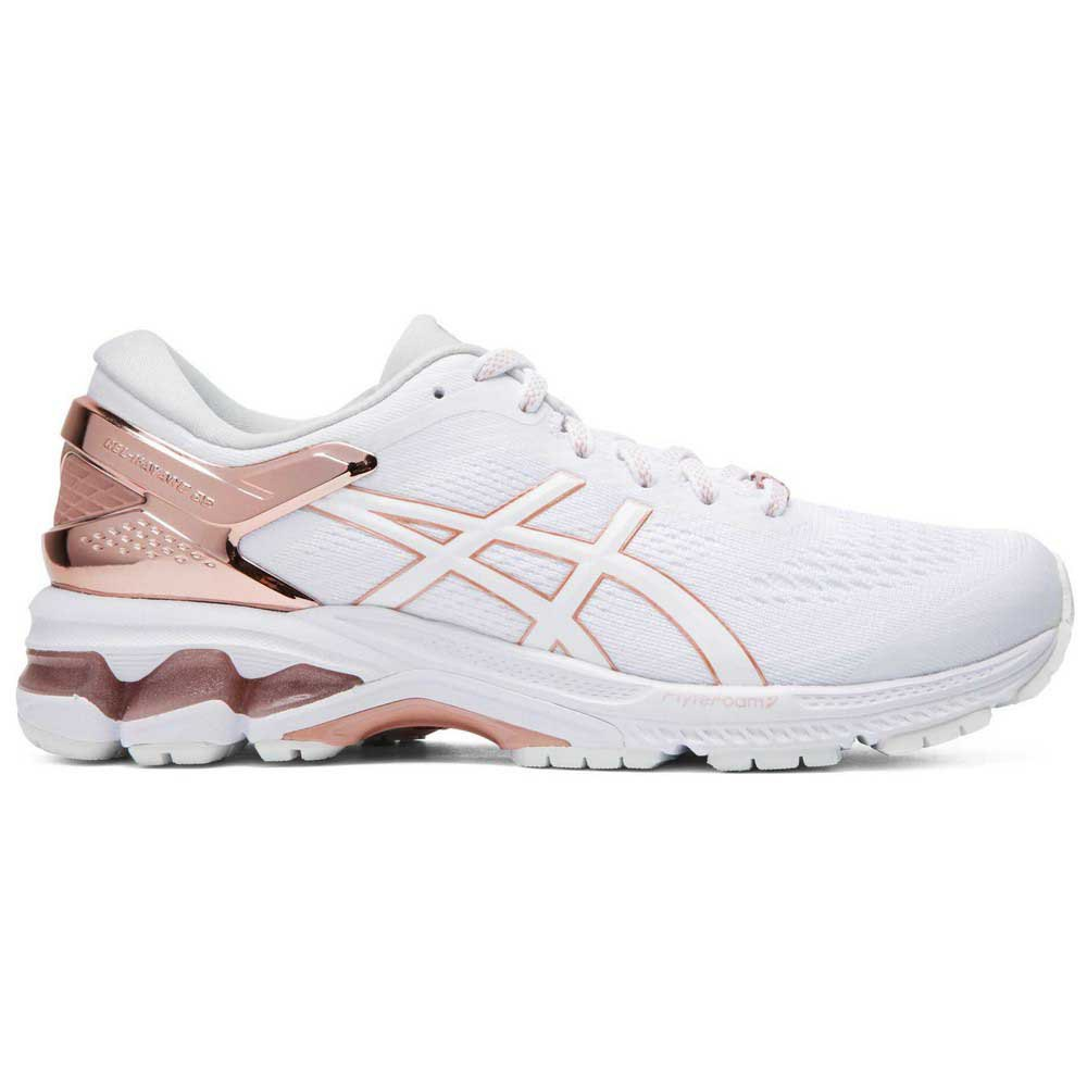 Asics Gel Kayano 26 Platinum EU 42 White / Rose Gold