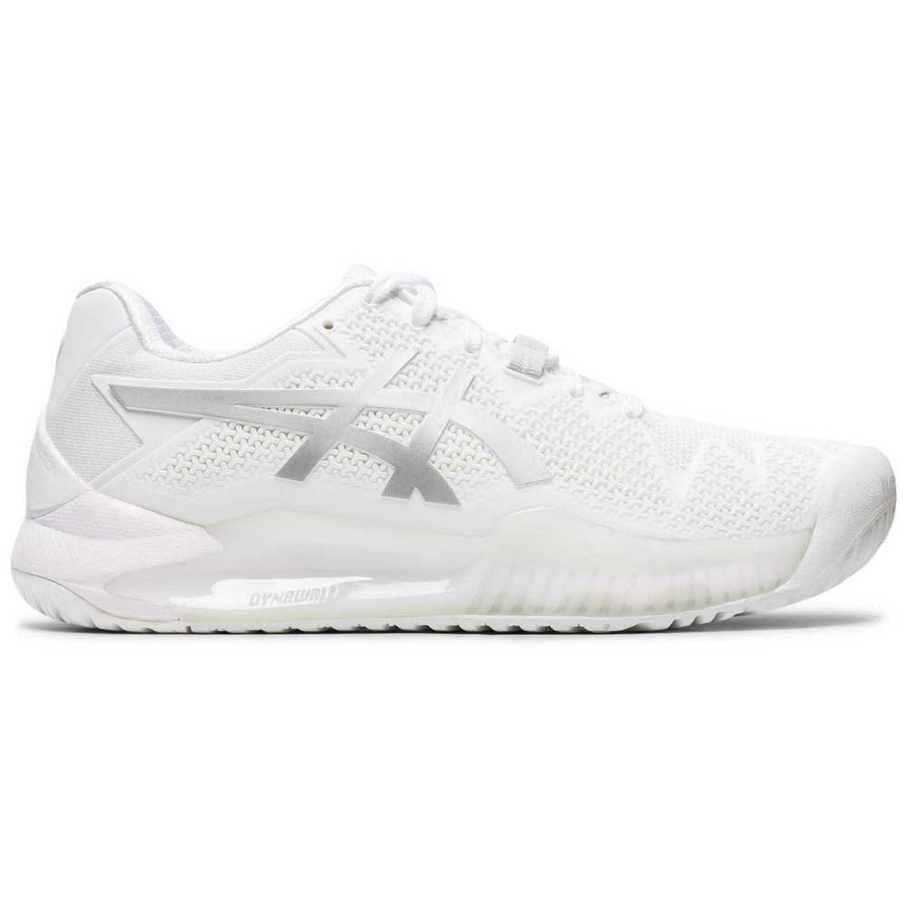 Asics Chaussures Gel Resolution 8 EU 37 White / Pure Silver