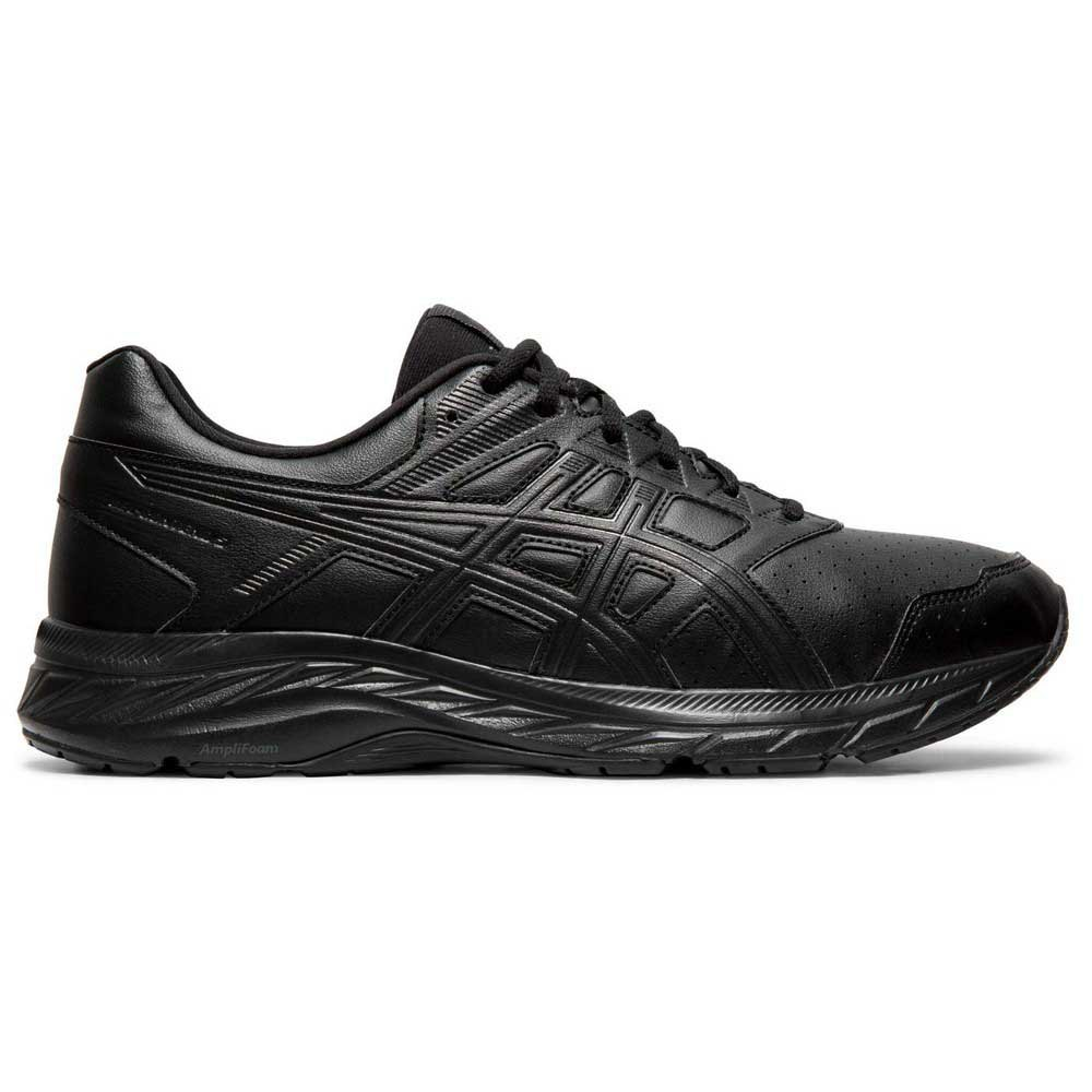 Asics Gel Contend 5 Sl EU 44 1/2 Black / Graphite Grey