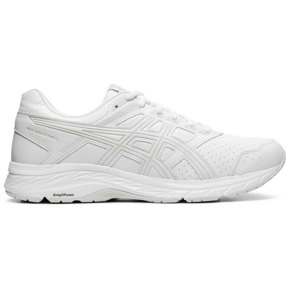 Asics Gel Contend 5 Sl EU 44 White / Glacier Grey