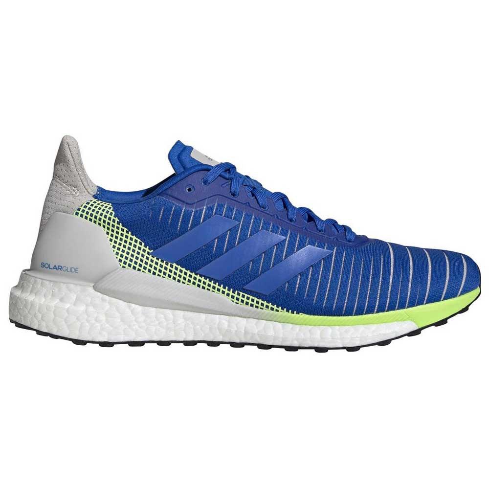 Adidas Solar Glide EU 41 1/3 Glory Blue / Glory Blue / Signal Green