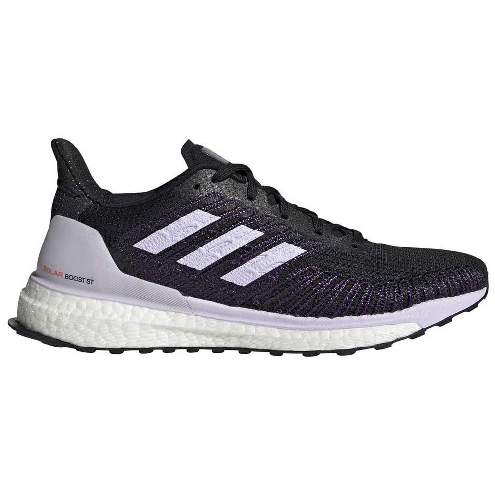 Adidas Solar Boost St EU 38 Core Black / Purple Tint / Solar Red