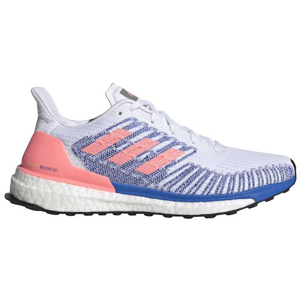 Adidas Solar Boost St EU 42 Footwear White / Light Flash Red / Glory Blue