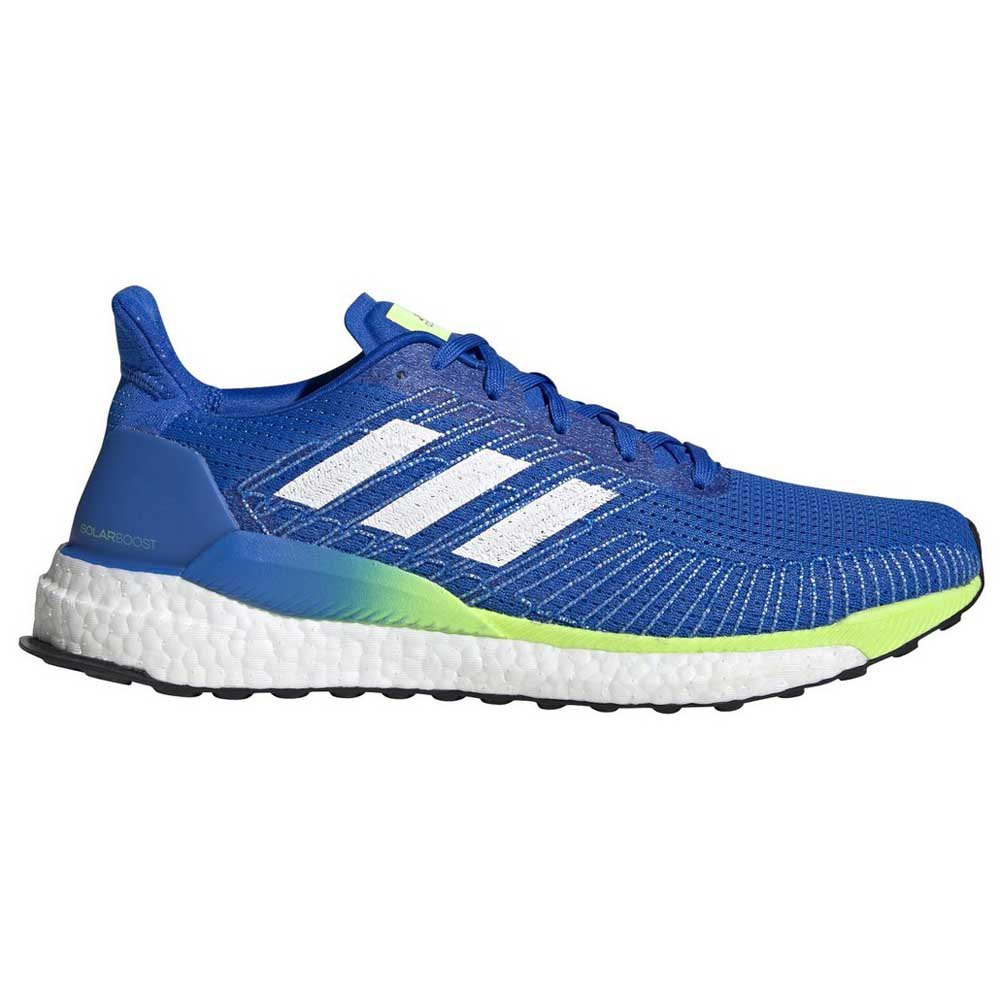 Adidas Solar Boost EU 46 Glory Blue / Footwear White / Signal Green