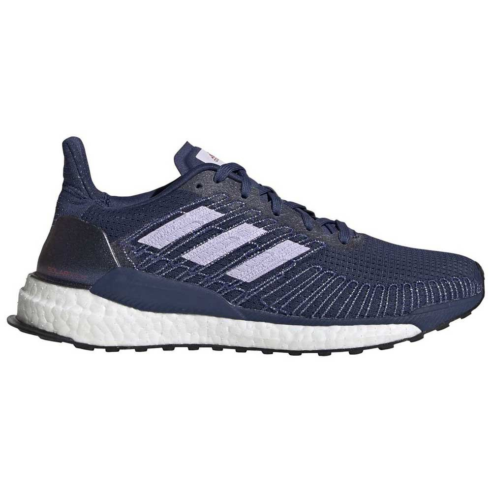Adidas Solar Boost EU 41 1/3 Tech Indigo / Purple Tint / Solar Red