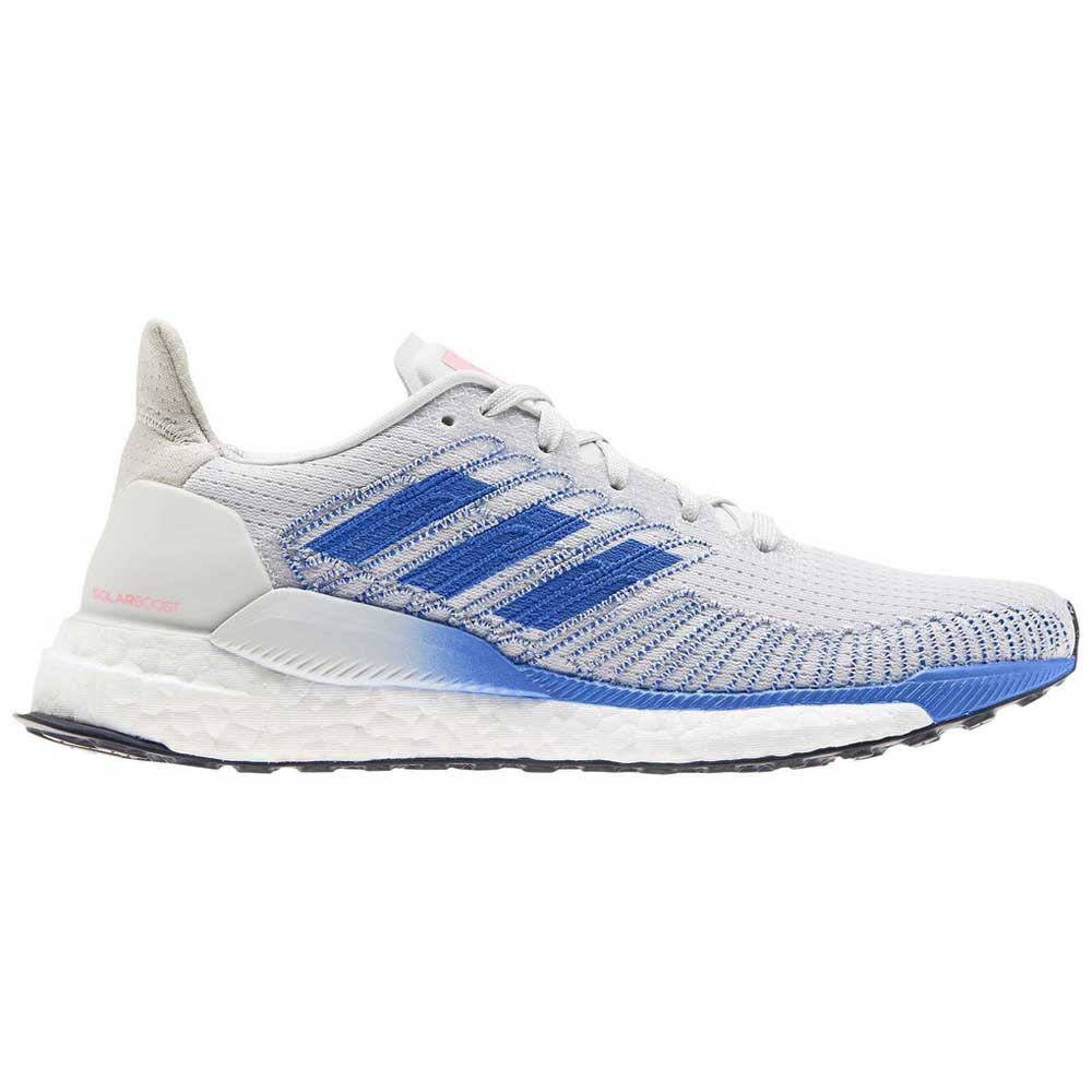 Adidas Solar Boost EU 41 1/3 Grey One / Glory Blue / Light Flash Red