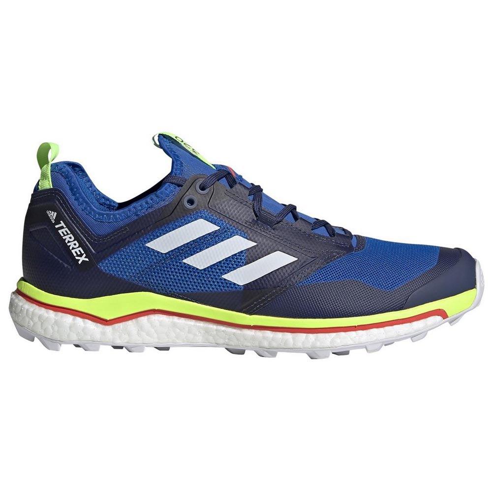 Adidas Terrex Agravic Xt EU 40 Glory Blue / Footwear White / Signal Green
