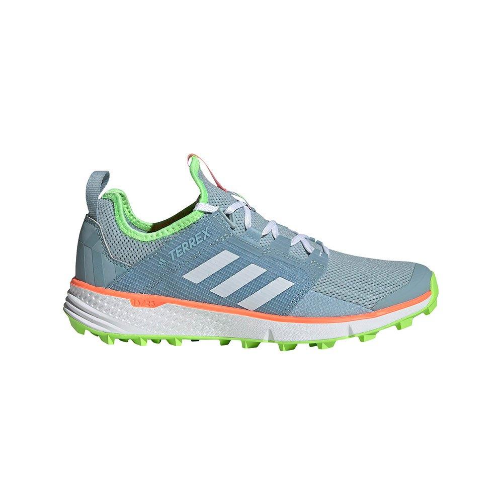 Adidas Terrex Speed Ld EU 42 2/3 Ash Grey / Footwear White / Signal Green