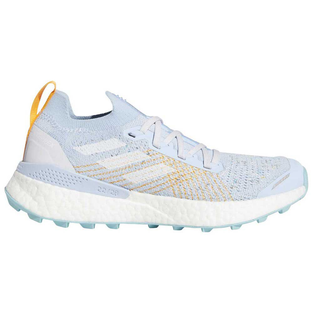 Adidas Terrex Two Ultra Parley EU 40 Dash Grey / Footwear White / Blue Spirit