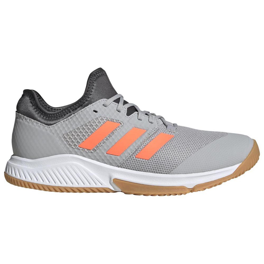 Adidas Court Team Bounce EU 45 1/3 Grey Two / Signal Coral / Grey Six