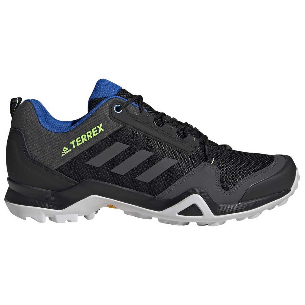 Adidas Terrex Ax3 EU 45 1/3 Core Black / Dgh Solid Grey / Signal Green