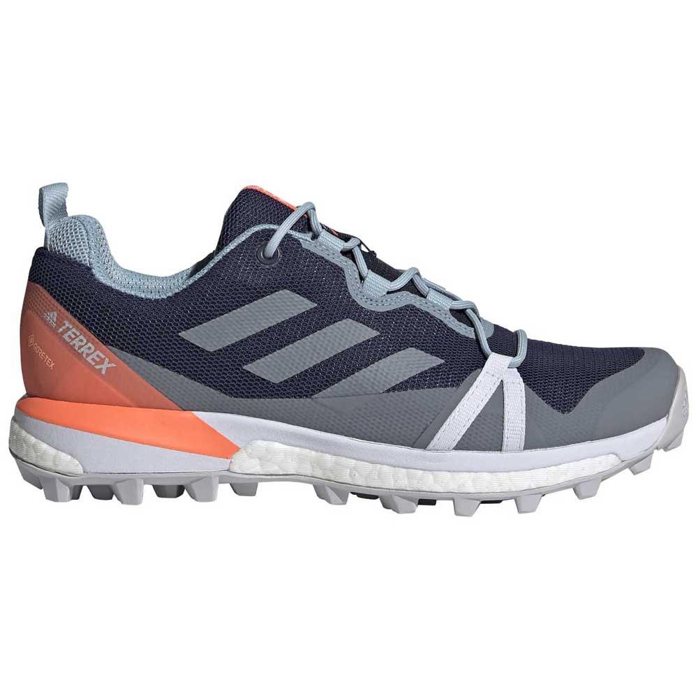 Adidas Terrex Skychaser Lt Goretex EU 37 1/3 Tech Indigo / Dash Grey / Signal Coral