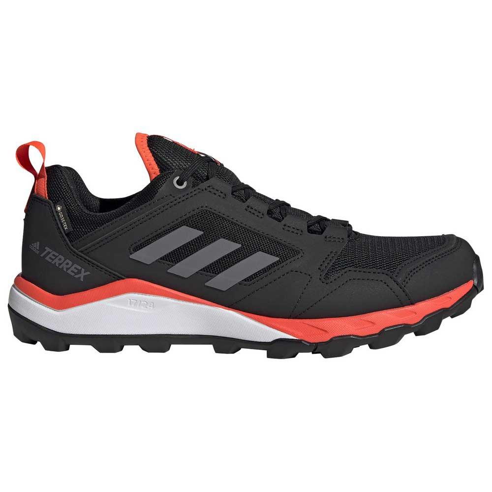 Adidas Terrex Agravic Tr Goretex EU 44 Core Black / Grey Four / Solar Red