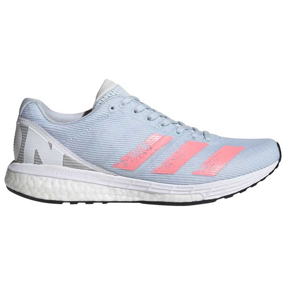 Adidas Adizero Boston 8 EU 38 Sky Tint / Light Flash Red / Footwear White
