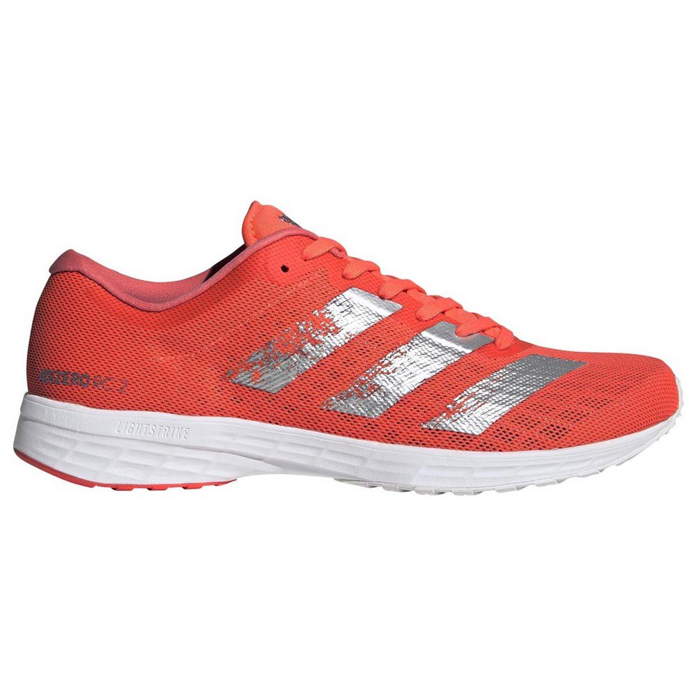 Adidas Adizero Rc 2 EU 40 2/3 Signal Coral / Silver Metal / Footwear White