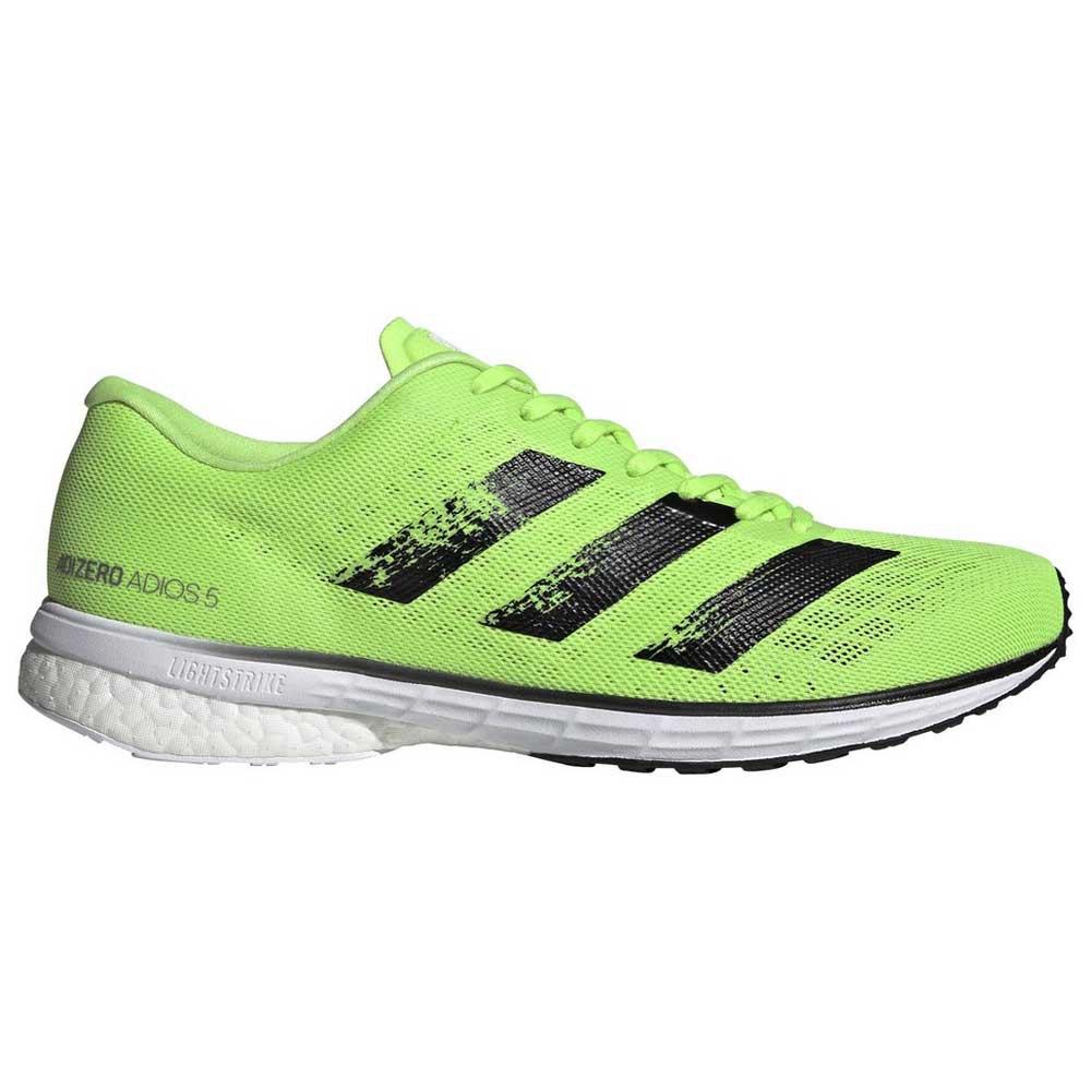 Adidas Adizero Adios 5 EU 42 Signal Green / Core Black / Footwear White