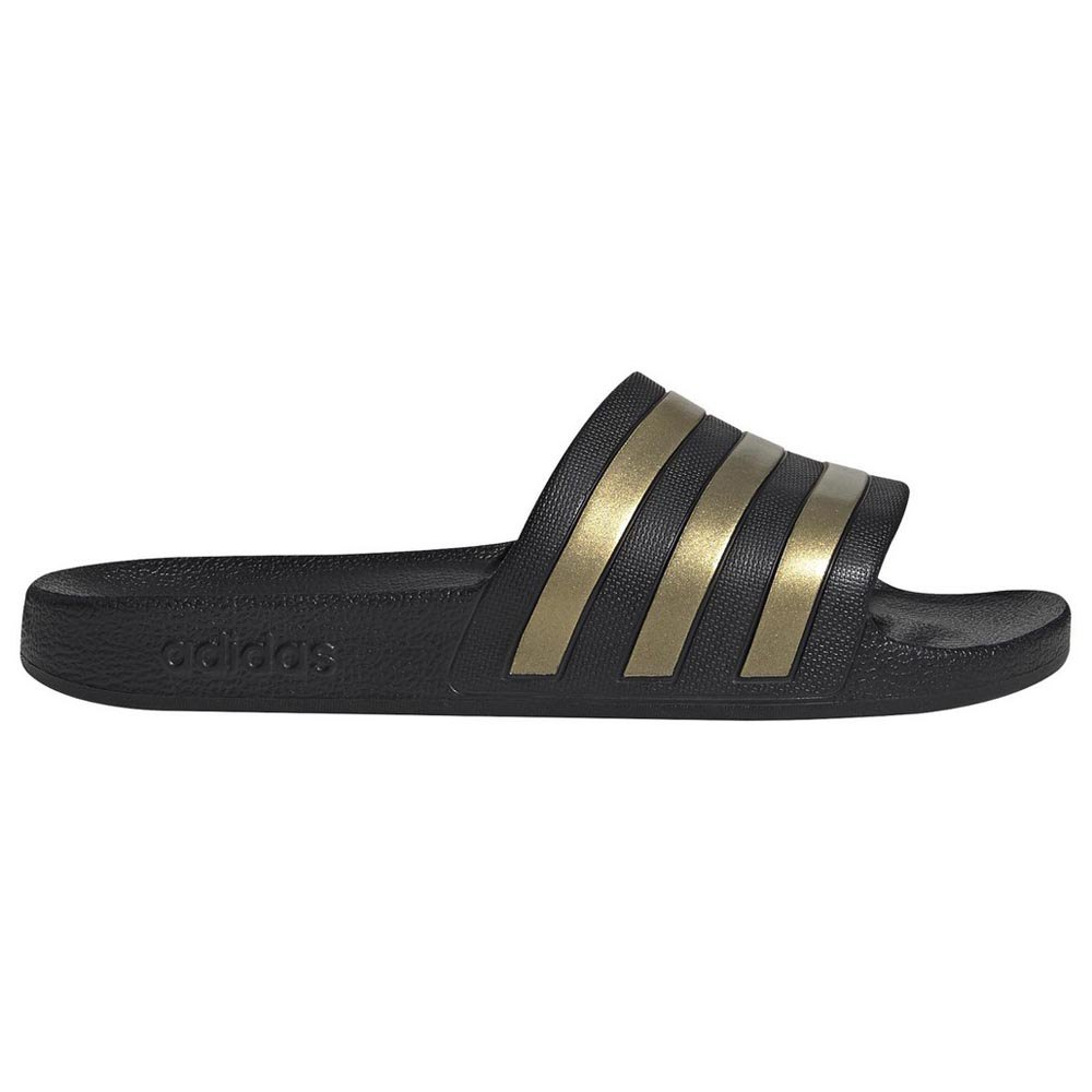 Adidas Adilette Aqua EU 39 1/3 Core Black / Gold Metal / Core Black
