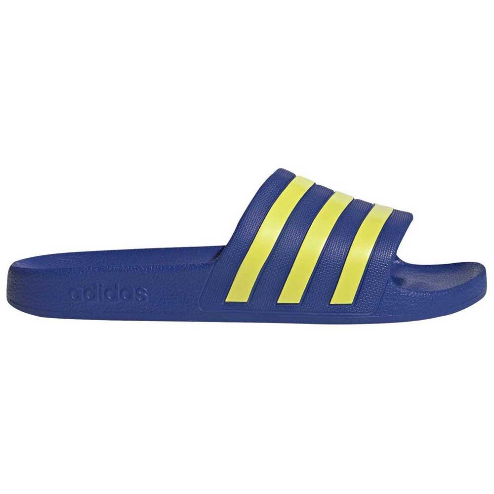 Adidas Adilette Aqua EU 39 1/3 Royal Blue / Shock Yellow / Royal Blue