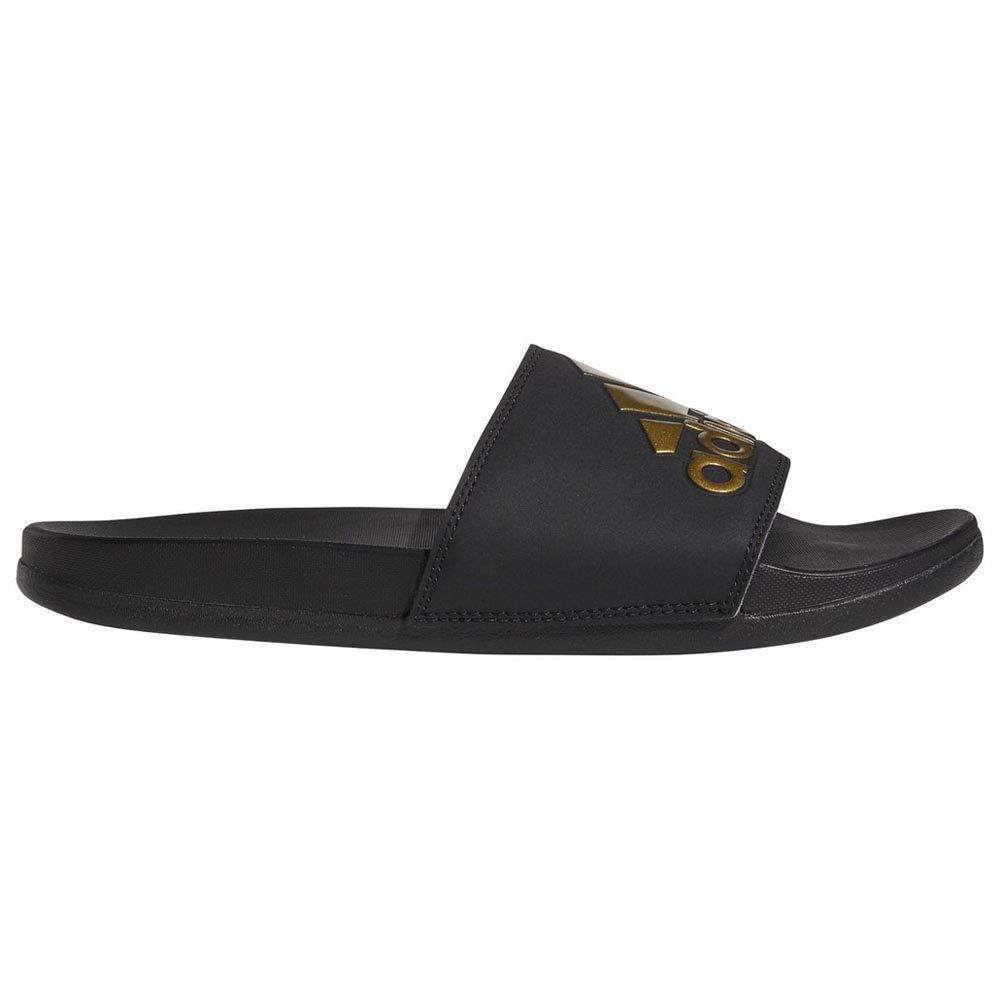 Adidas Adilette Comfort EU 39 1/3 Core Black / Gold Metal / Core Black