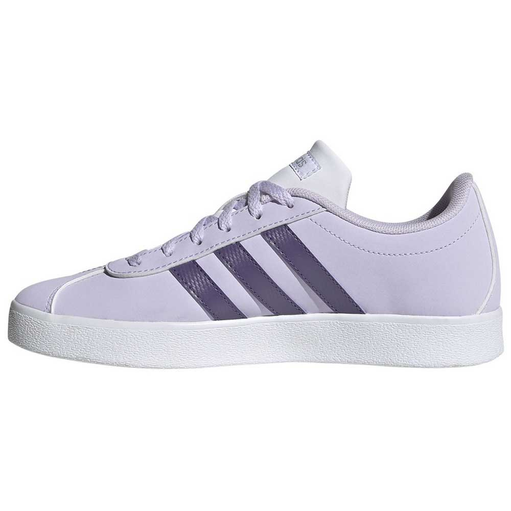 Adidas-Vl-Court-2-0-Kid-Purple-T65752-Sneakers-Unisex-Purple-Sneakers-adidas thumbnail 9