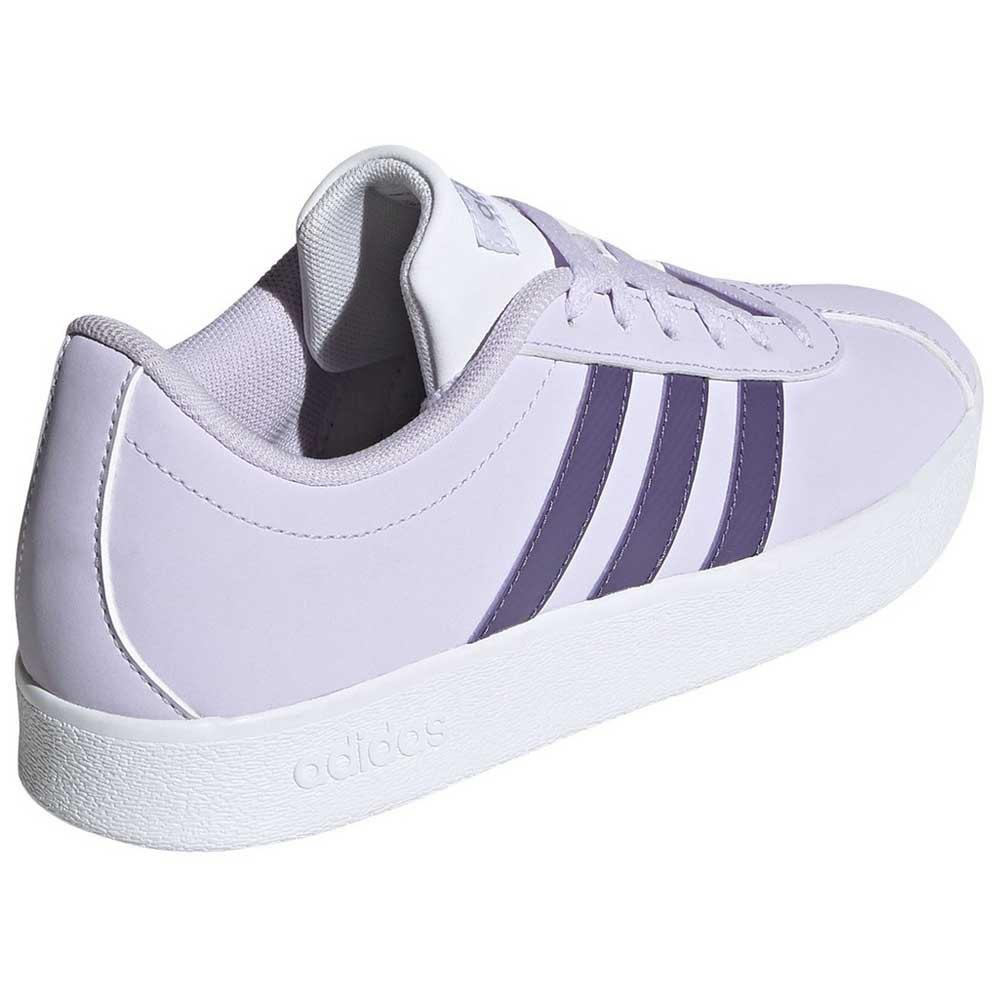 Adidas-Vl-Court-2-0-Kid-Purple-T65752-Sneakers-Unisex-Purple-Sneakers-adidas thumbnail 12