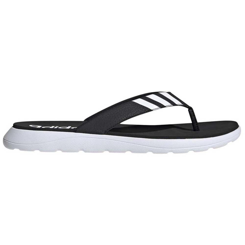 Adidas Tongs Comfort EU 38 Core Black / Footwear White / Core Black