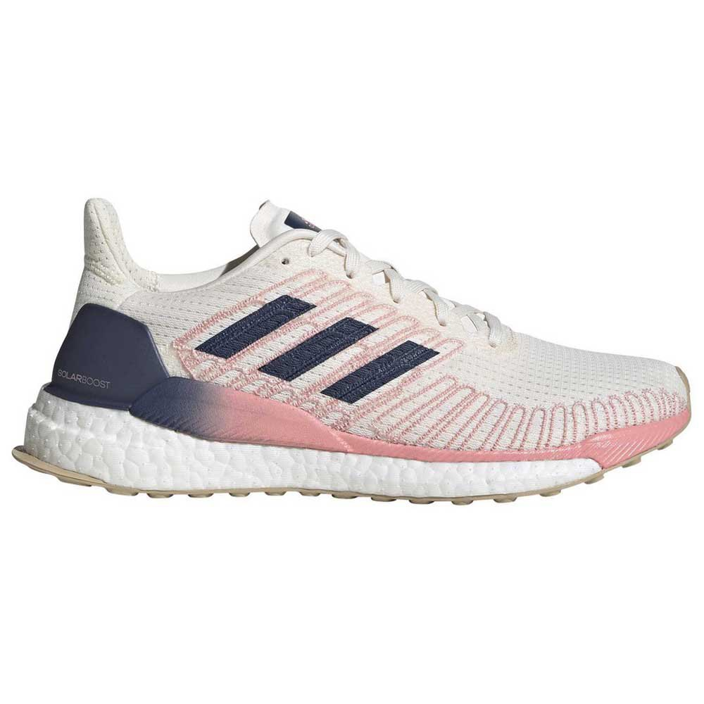 Adidas Solar Boost EU 41 1/3 Core White / Tech Indigo / Glory Pink
