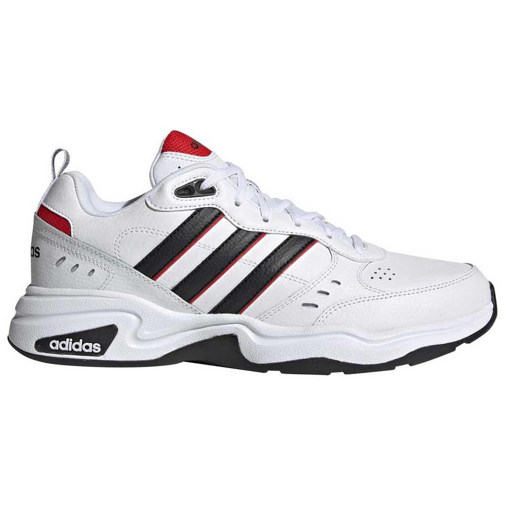 Adidas Strutter EU 44 2/3 Footwear White / Core Black / Active Red